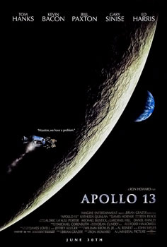 Movie poster for the film Apollo 13